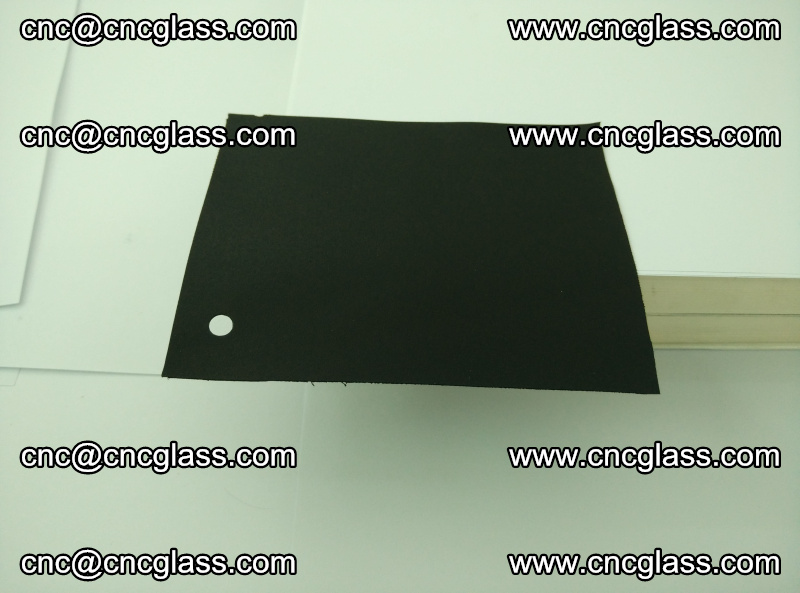 Black opaque eva laminating glass interlayer film foil (11)