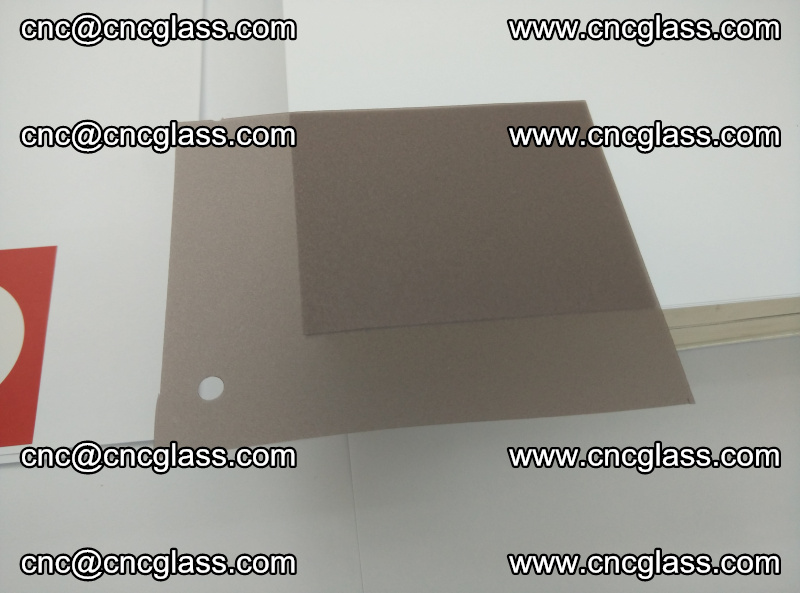 EVA glass interlayer film foil, transparent tea color (1)