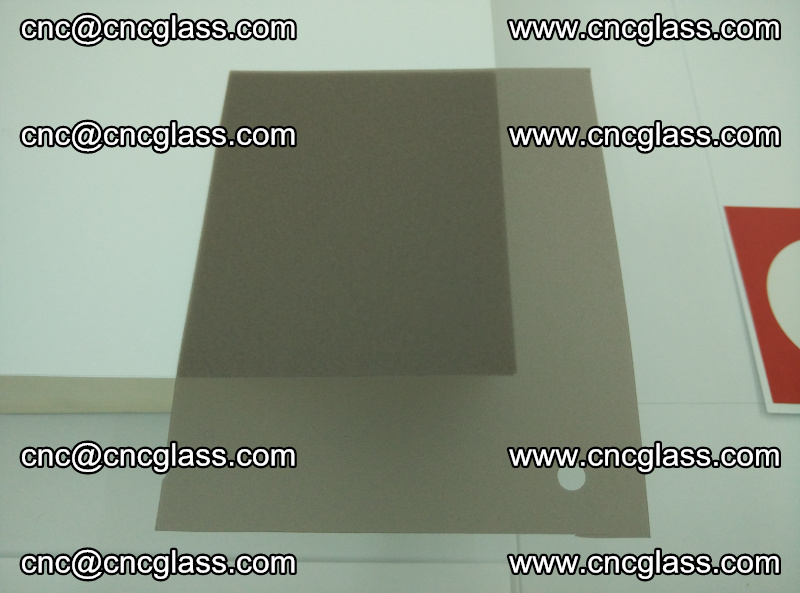 EVA glass interlayer film foil, transparent tea color (12)