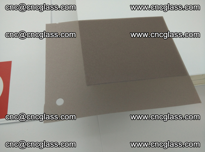 EVA glass interlayer film foil, transparent tea color (14)