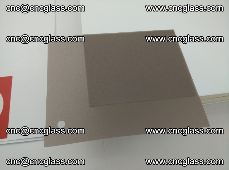 EVA glass interlayer film foil, transparent tea color (16)