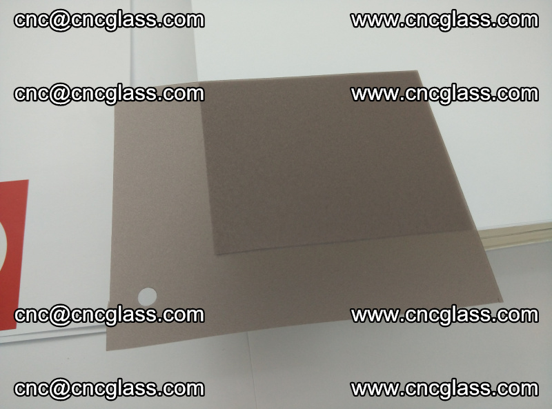 EVA glass interlayer film foil, transparent tea color (17)
