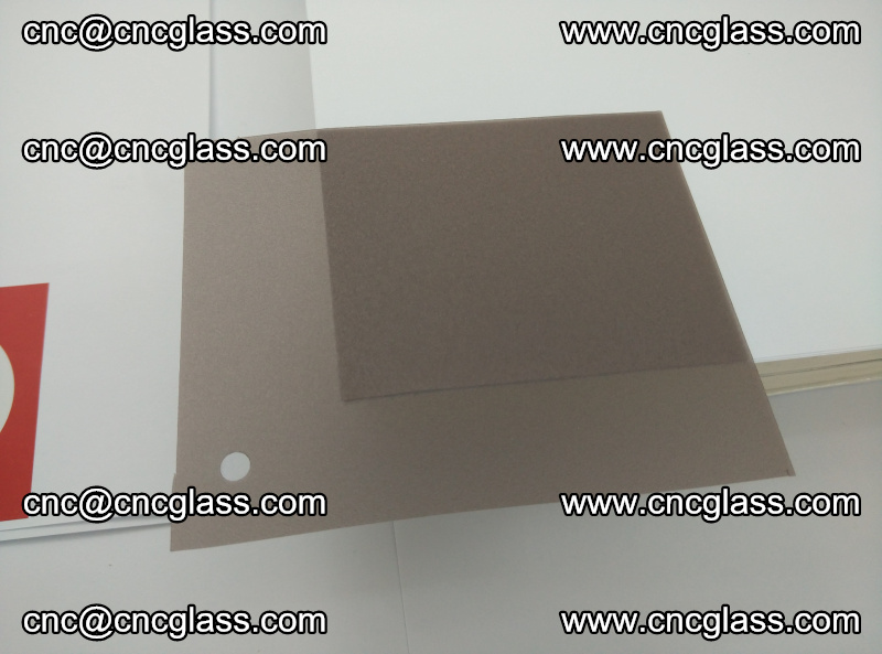 EVA glass interlayer film foil, transparent tea color (18)
