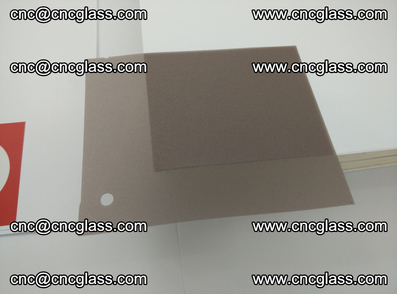 EVA glass interlayer film foil, transparent tea color (19)