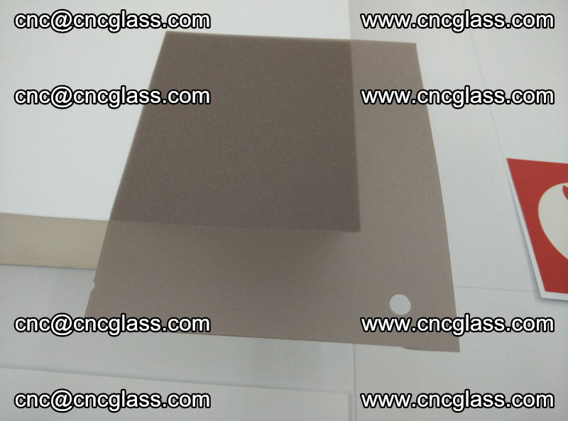 EVA glass interlayer film foil, transparent tea color (2)