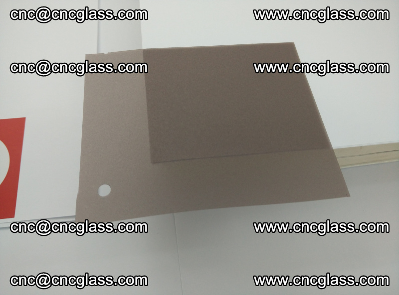 EVA glass interlayer film foil, transparent tea color (20)