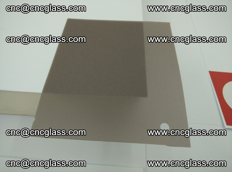 EVA glass interlayer film foil, transparent tea color (3)