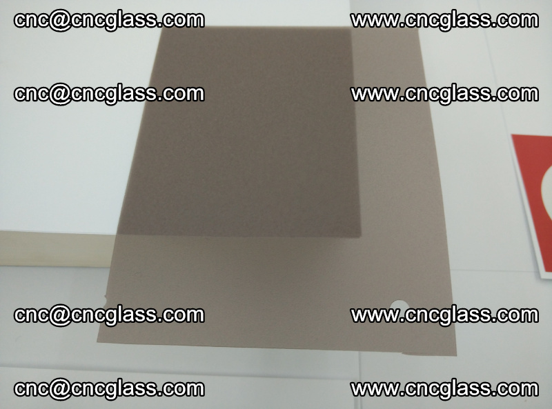 EVA glass interlayer film foil, transparent tea color (4)