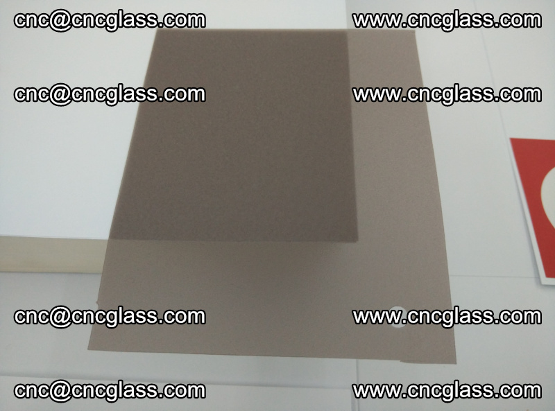 EVA glass interlayer film foil, transparent tea color (5)