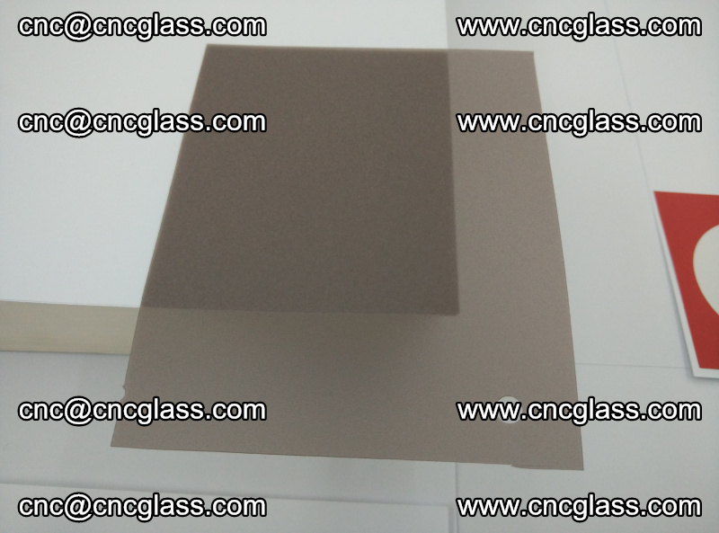 EVA glass interlayer film foil, transparent tea color (6)