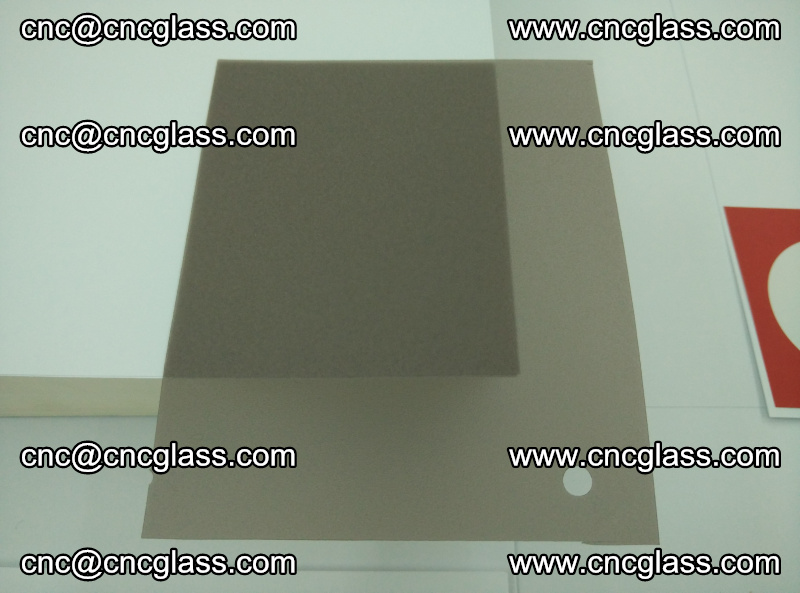 EVA glass interlayer film foil, transparent tea color (9)