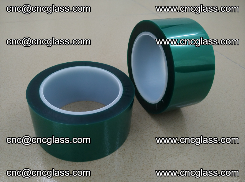 Eva glass interlayer film safety glazing accessories, PET GREEN TAPE (1)