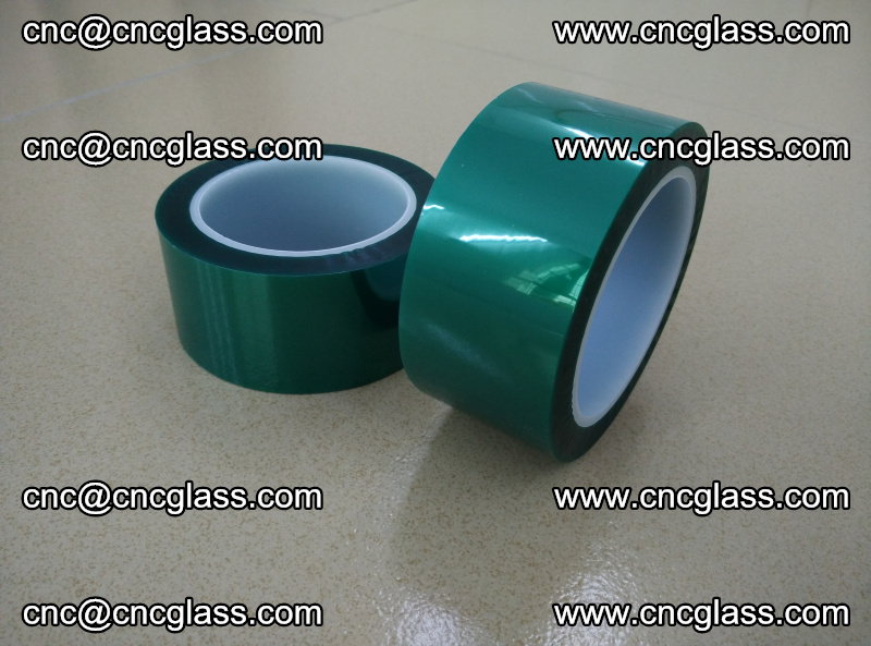 Eva glass interlayer film safety glazing accessories, PET GREEN TAPE (10)