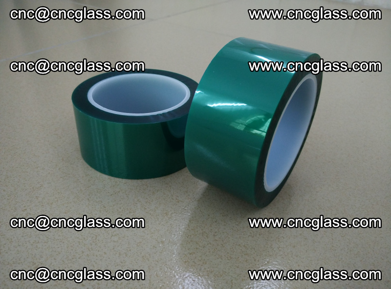 Eva glass interlayer film safety glazing accessories, PET GREEN TAPE (11)