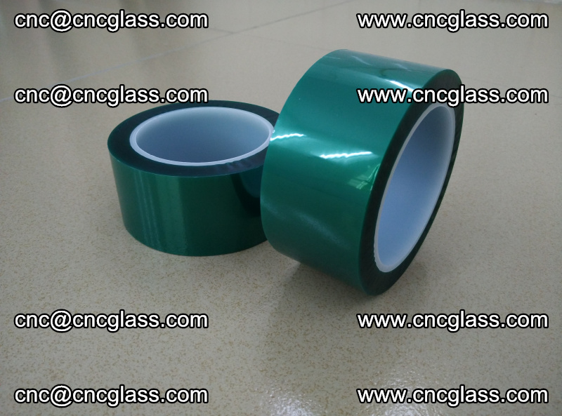 Eva glass interlayer film safety glazing accessories, PET GREEN TAPE (12)