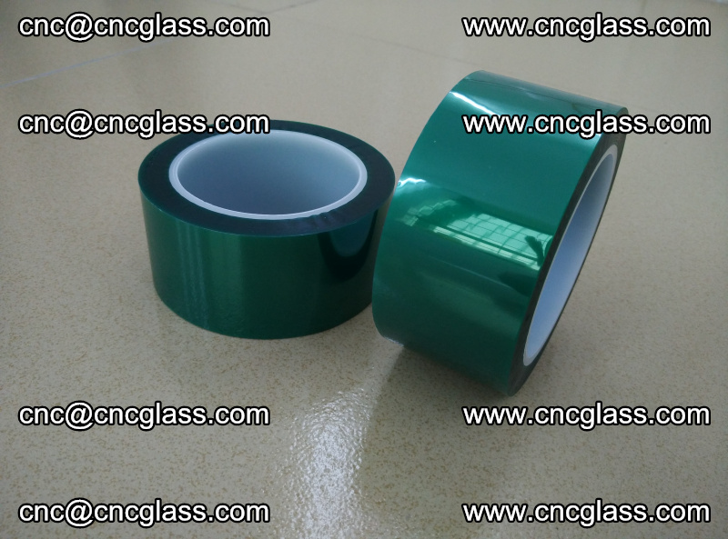 Eva glass interlayer film safety glazing accessories, PET GREEN TAPE (13)