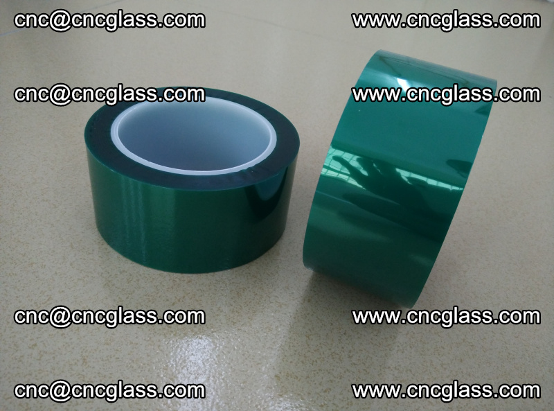 Eva glass interlayer film safety glazing accessories, PET GREEN TAPE (14)