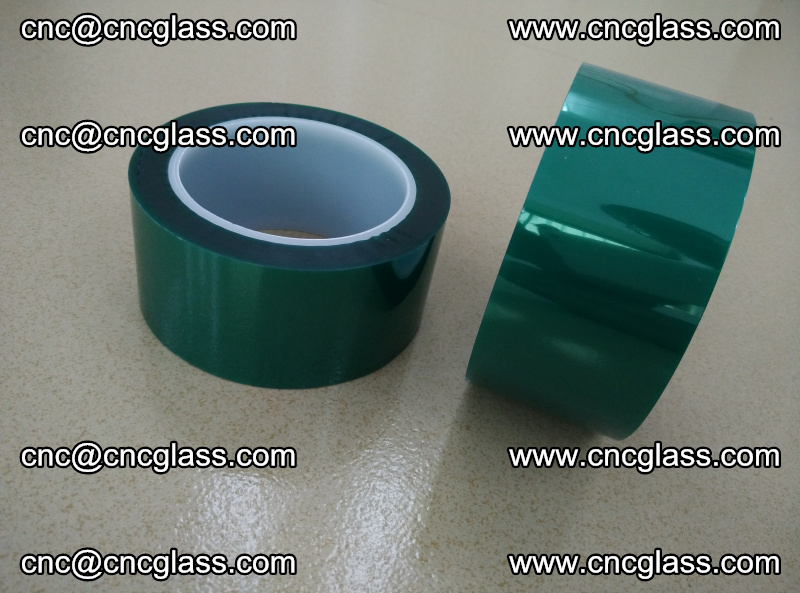 Eva glass interlayer film safety glazing accessories, PET GREEN TAPE (15)