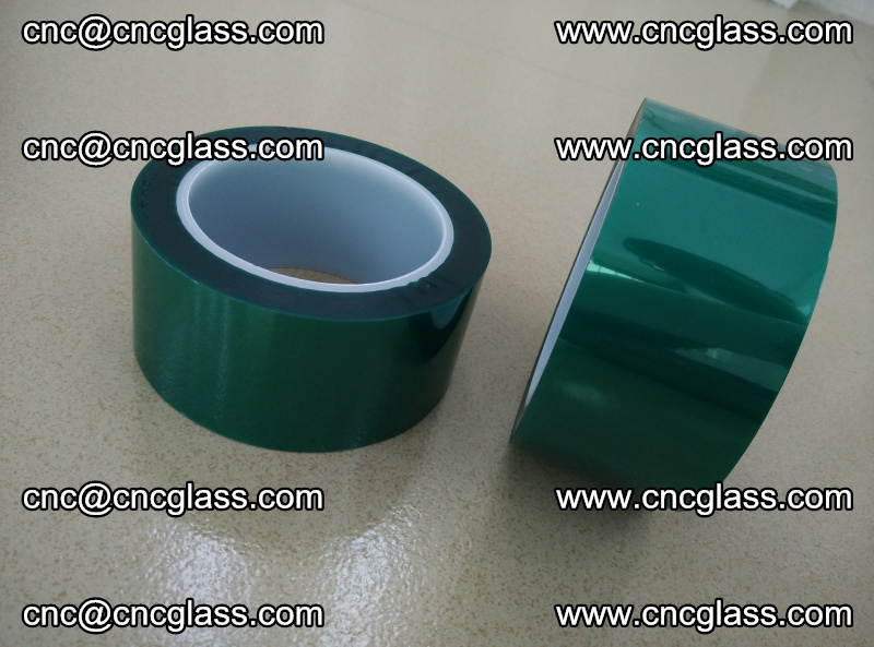 Eva glass interlayer film safety glazing accessories, PET GREEN TAPE (16)