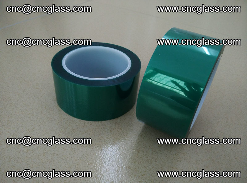 Eva glass interlayer film safety glazing accessories, PET GREEN TAPE (17)