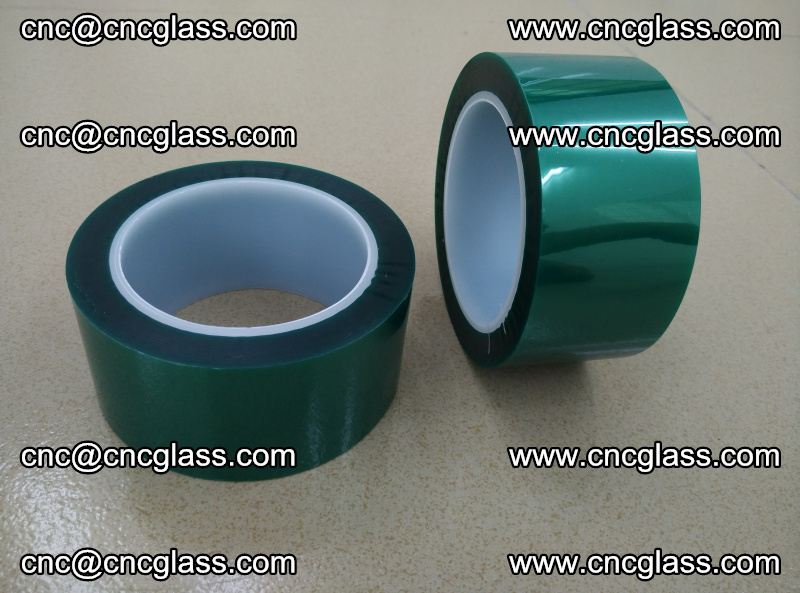 Eva glass interlayer film safety glazing accessories, PET GREEN TAPE (18)