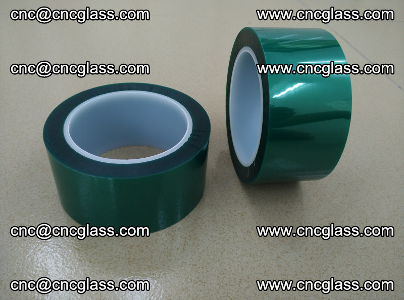 Eva glass interlayer film safety glazing accessories, PET GREEN TAPE (19)
