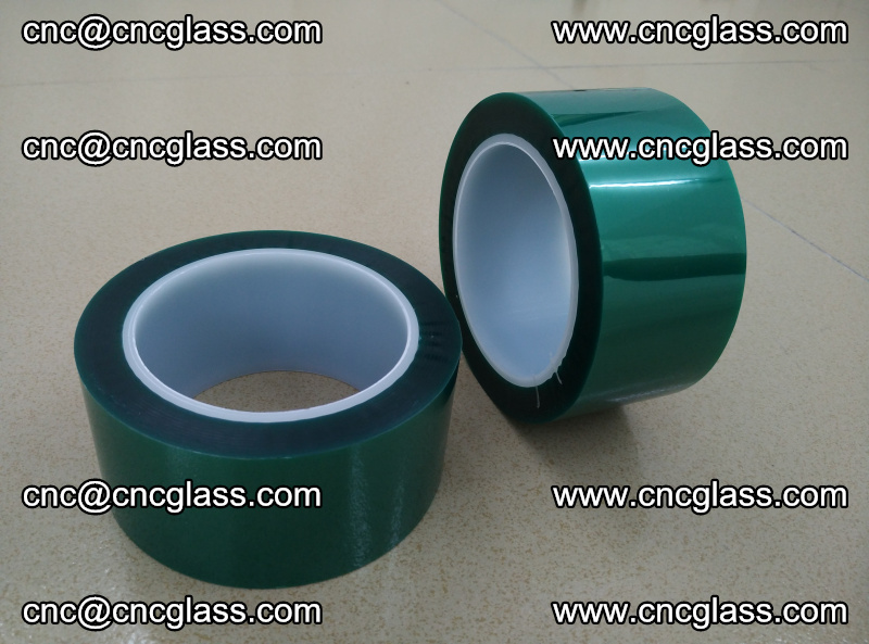 Eva glass interlayer film safety glazing accessories, PET GREEN TAPE (20)