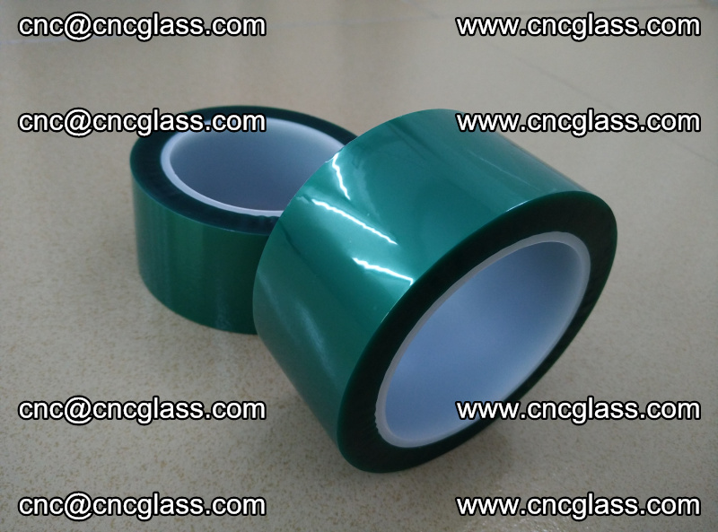 Eva glass interlayer film safety glazing accessories, PET GREEN TAPE (3)