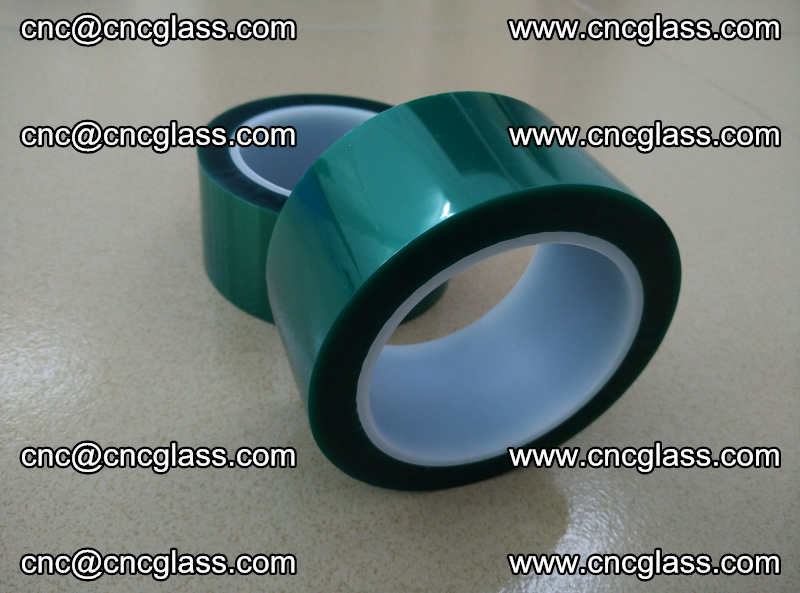 Eva glass interlayer film safety glazing accessories, PET GREEN TAPE (4)