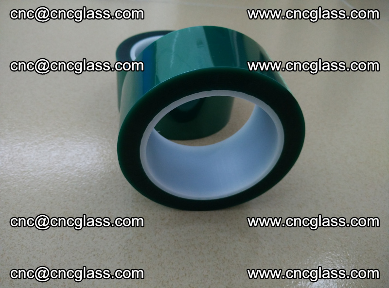 Eva glass interlayer film safety glazing accessories, PET GREEN TAPE (5)