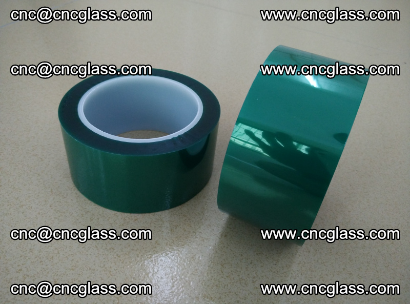 Eva glass interlayer film safety glazing accessories, PET GREEN TAPE (6)