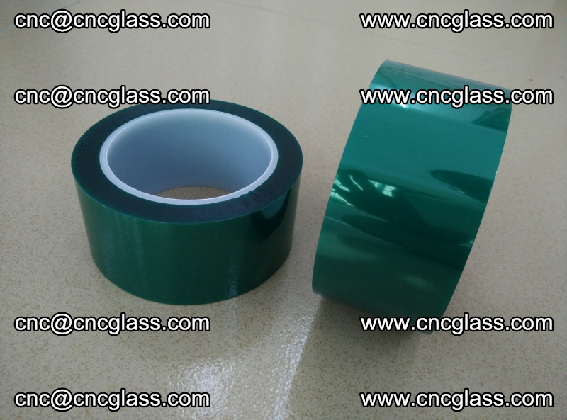 Eva glass interlayer film safety glazing accessories, PET GREEN TAPE (7)