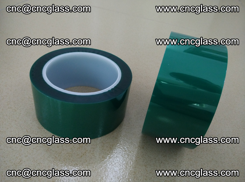 Eva glass interlayer film safety glazing accessories, PET GREEN TAPE (8)