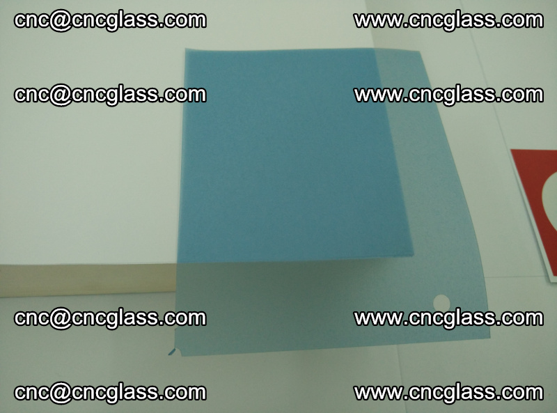 Eva laminating glass interlayer film foil, Transparent royal blue color (1)