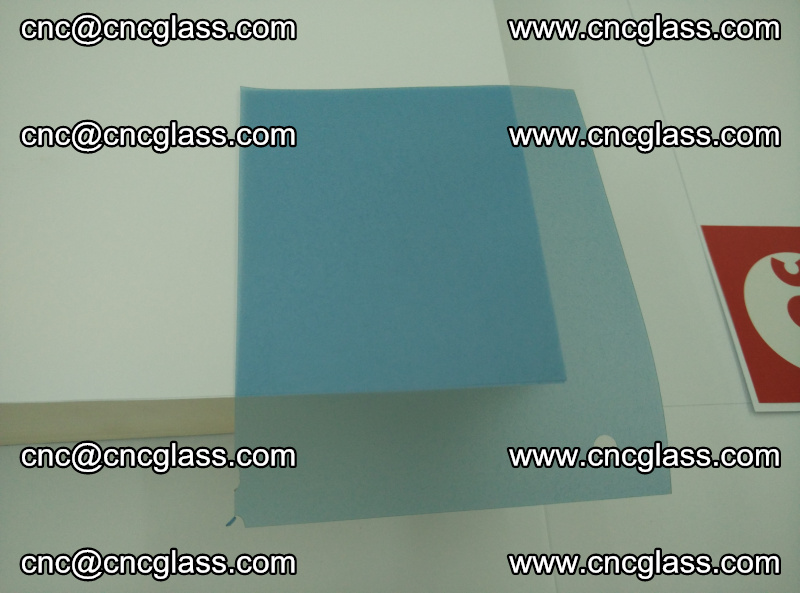 Eva laminating glass interlayer film foil, Transparent royal blue color (16)